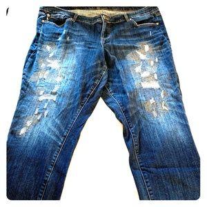 Torrid Boyfriend Jeans size 20